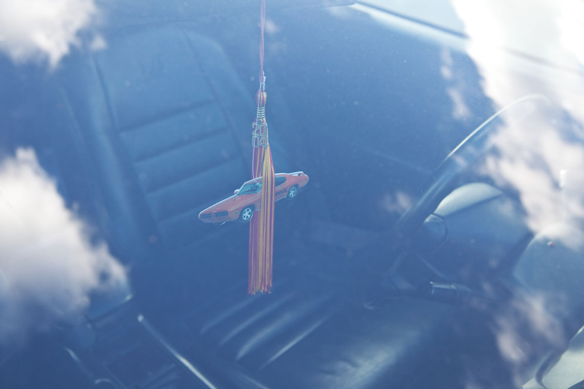 Muscle car air freshener by real life reportage photographer Anthony Georgis | www.anthonygeorgis.com