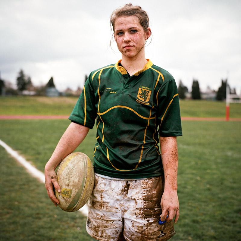 Portrait of a rugby player by authentic lifestyle and youth culture photographer Anthony Georgis | www.anthonygeorgis.com