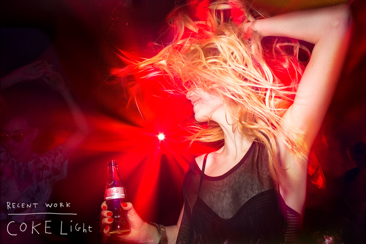 Coke Light Campaign Cute Girl Having Fun Dancing at a Club by Lifestyle Photographer Anthony Georgis | www.anthonygeorgis.com