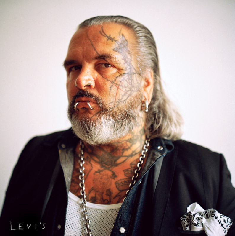 Portrait of Sven Marquardt for Levi's by Anthony Georgis Photographer | www.anthonygeorgis.com