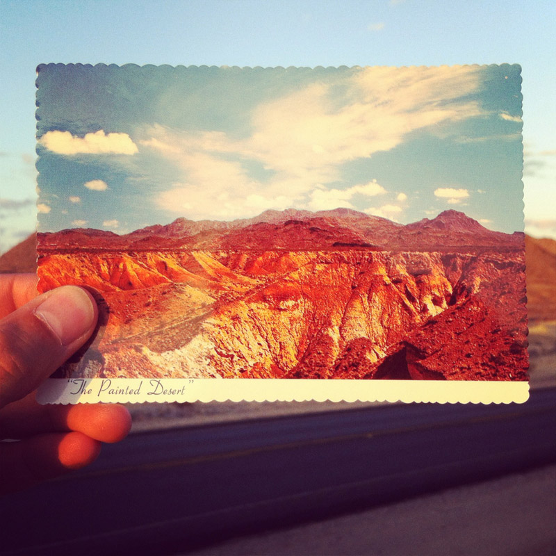 Terlingua Texas - Painted Desert Post Card